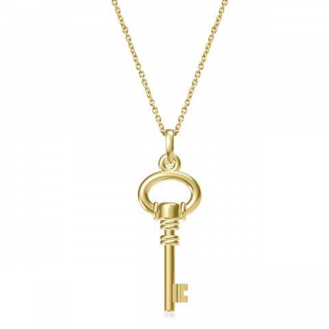 Geltono aukso pakabukas Raktelis (parduotas)