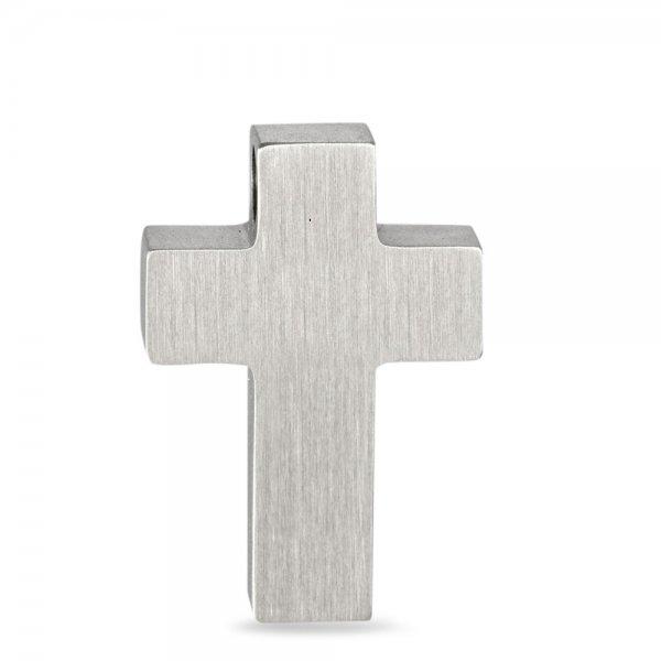 Nerūdijančio plieno pakabukas Kryžiukas