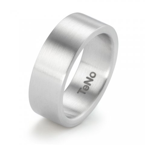 Nerūdijančio plieno žiedas (7.5 mm pločio)
