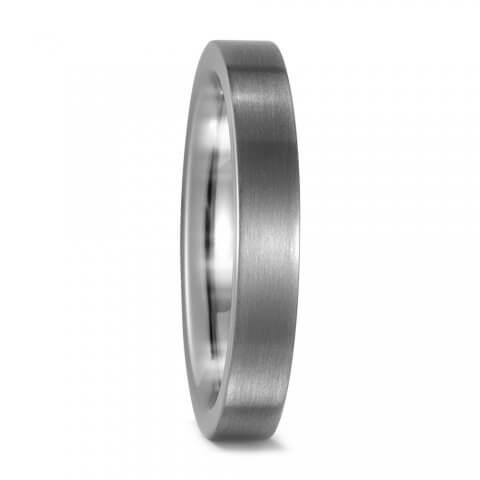 Matinis titano žiedas (4 mm pločio)