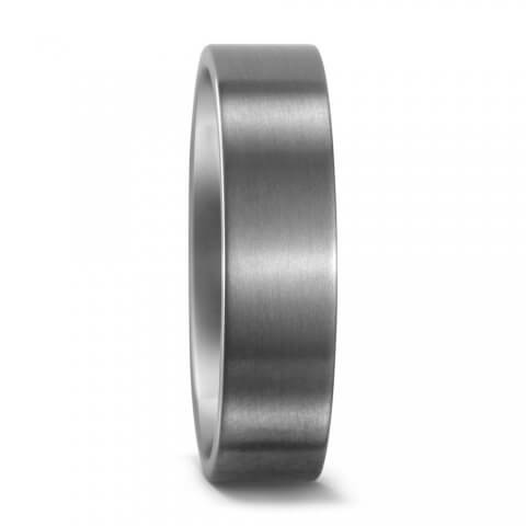 Matte finish titanium ring