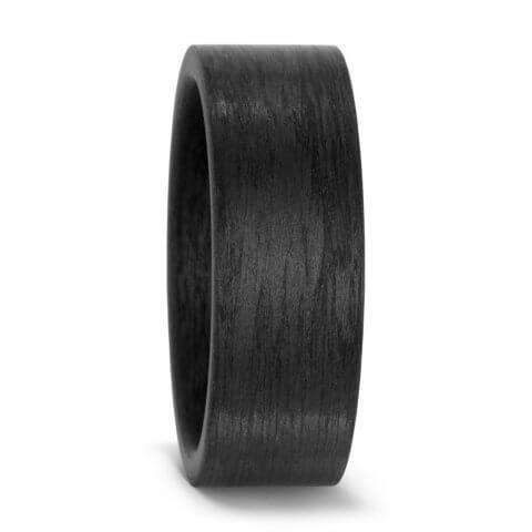 Karbono žiedas (8 mm pločio)