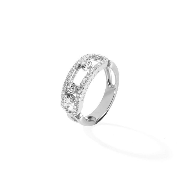 MESSIKA white gold diamond ring Move Classic