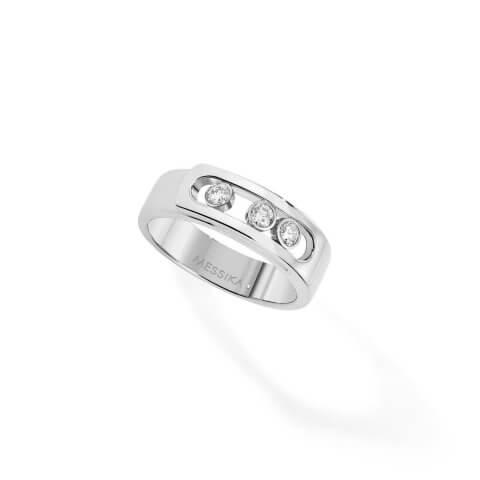 MESSIKA white gold diamond ring Move Noa