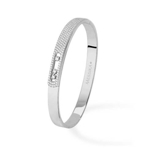 MESSIKA white gold diamond bracelet Move Noa