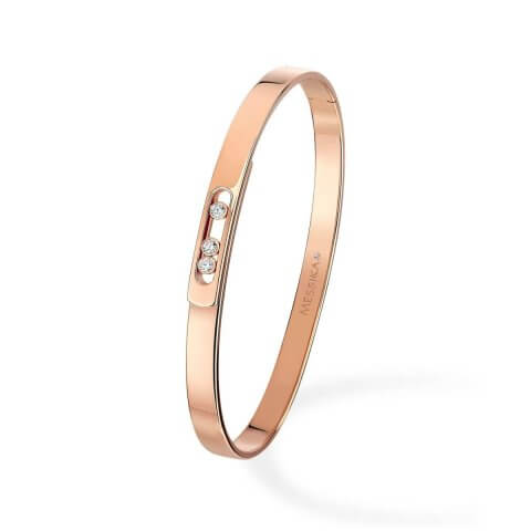 MESSIKA rose gold diamond bracelet Move Noa