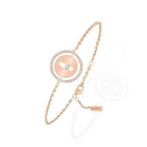 MESSIKA rose gold diamond bracelet Lucky Move