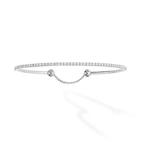 MESSIKA white gold diamond bracelet Skinny