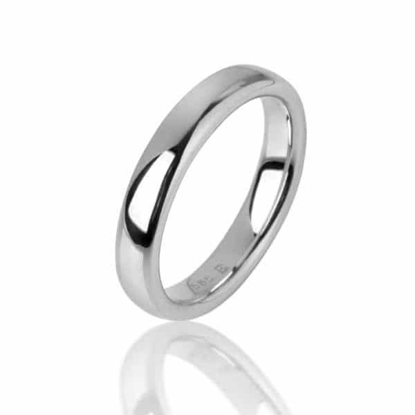 Balto aukso žiedas (4.3 mm pločio)