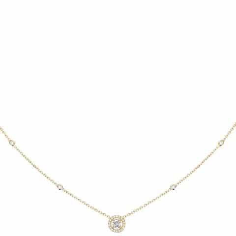 MESSIKA Geltono aukso pakabukas su deimantais Joy XS