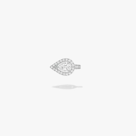 MESSIKA Balto aukso auskaras su deimantais