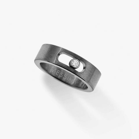 MESSIKA titano žiedas su deimantais