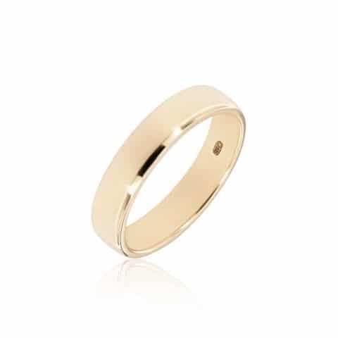 Geltono aukso žiedas ( 5,5 mm pločio)